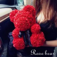Лучший подарок:Мишки из 3D роз